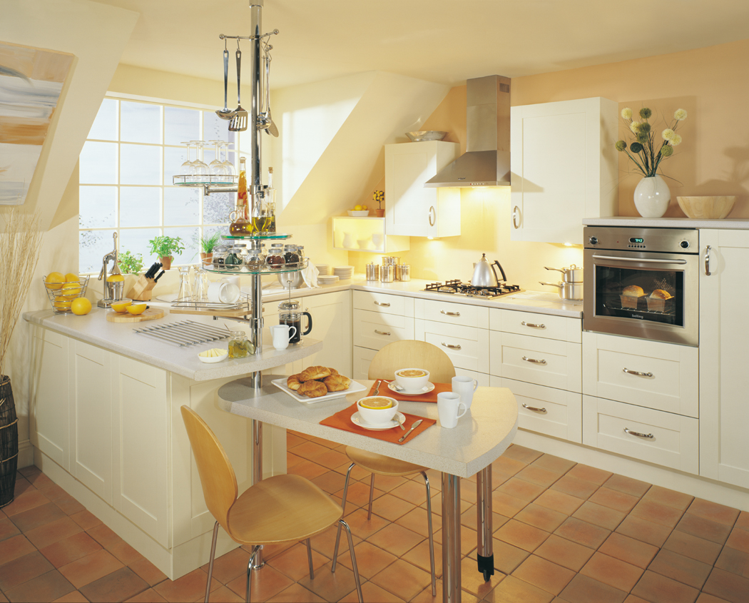 Devon Kitchens Kitchenworld Exeter Decor Cream Kitchen