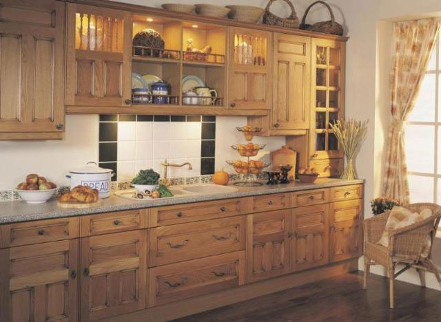 Devon Kitchens -  Kitchenworld Exeter - Castille Natural Oak Kitchen