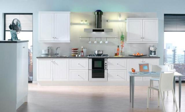 Devon Kitchens -  Kitchenworld Exeter - Celine white Kitchen