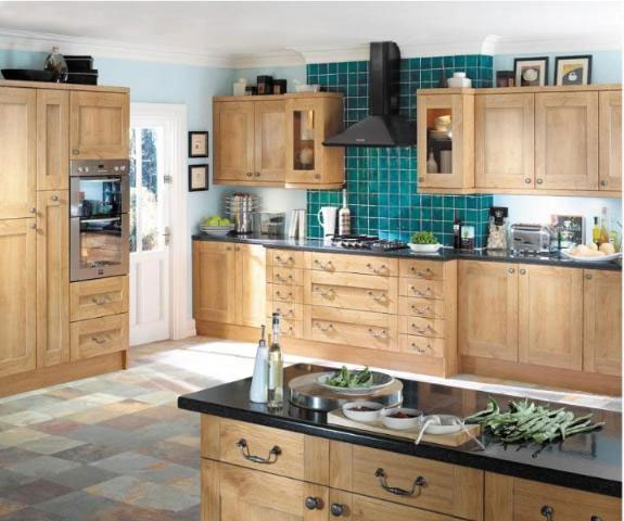 Devon Kitchens -  Kitchenworld Exeter - Decor Winchester Oak Kitchen