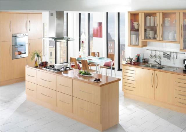 Devon Kitchens -  Kitchenworld Exeter - Urban Beech Kitchen
